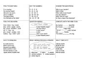 English Worksheets: Tic-tac-toe