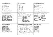 English worksheet: Tic-tac-toe