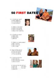 50 first dates - part 1