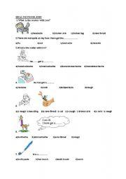 English Worksheet: health problems-hygiene