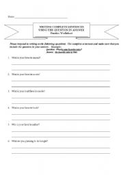 Printables Writing Complete Sentences Worksheet printables writing complete sentences worksheets safarmediapps english practice worksheet practice