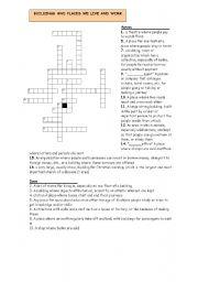 English worksheet: KET VOCABULARY