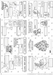 English worksheets my christmas mini book 9