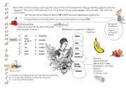 English Worksheet: Food around the world