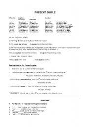 English Worksheets: prsetn simple