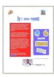 English Worksheets: Oxymoron Lesson