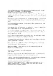 English Worksheets: English tips