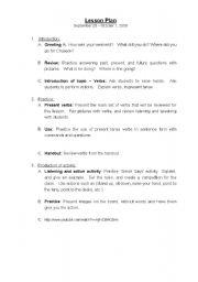 english worksheets commands lesson plan. Black Bedroom Furniture Sets. Home Design Ideas