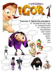 English Worksheets: Movie Worksheet: