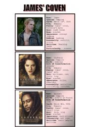 New moon characters - speaking cards 4/5