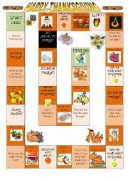 Thanksgiving Boardgame