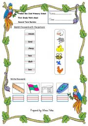 English Worksheets: mixed skills worksheet