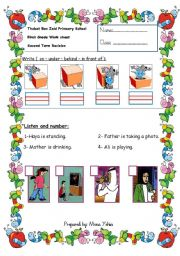 English Worksheets: skills worksheet