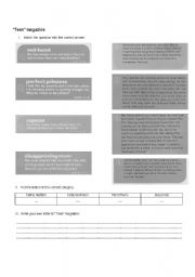 English Worksheets: Problem pages