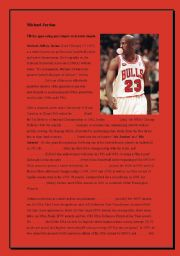 Michael Jordan - Past simple