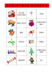 CHRISTMAS VOCABULARY 2/2