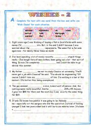 WISH CLAUSES - 2/2