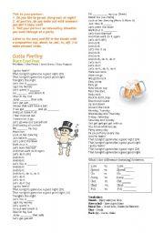 English Worksheets: Gotta Feeling