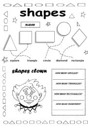 shapes esl worksheet by valleygirl. Black Bedroom Furniture Sets. Home Design Ideas