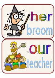 English Worksheet: possessive pronouns cards