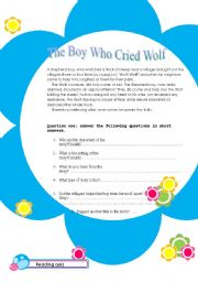 the boy who cried wolf (short story)