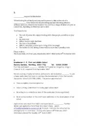 English Worksheet: Applying for a Job