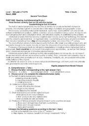 English Worksheet: ethics