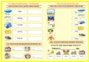 English Worksheet: VOCABULARY ENRICHMENT: THE WEATHER
