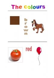 English Worksheets: Power point los colores