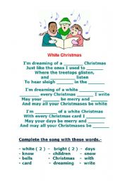 WHITE CHRISTMAS - SONG