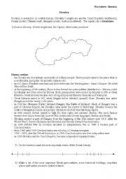 English Worksheets: Slovakia