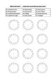 english worksheets what s the time. Black Bedroom Furniture Sets. Home Design Ideas