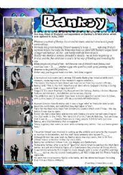 Banksy - graffiti artist