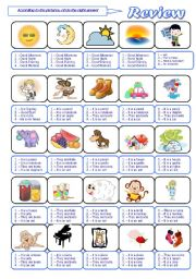 English Worksheet: GREETINGS AND ALPHABET REVIEW. PART 1