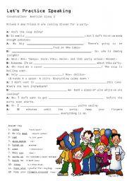 English Worksheet: American slang dialogue 3