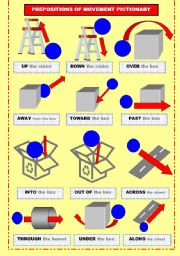 english worksheets prepositions of movement pictionary. Black Bedroom Furniture Sets. Home Design Ideas