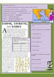 School in Ancient Greece