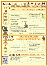 SILENT LETTERS 3