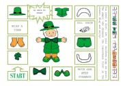 DRESS THE LEPRECHAUN