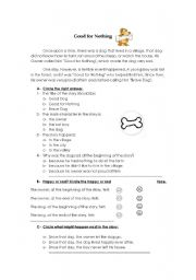 English Worksheets: Reading comprehension practice.
