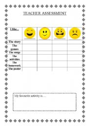 Printables Worksheets For Teachers english teaching worksheets assessment teacher assessment
