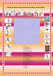English Worksheet: SPORTS. wordsearch
