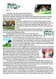 English Worksheets: HEIDI