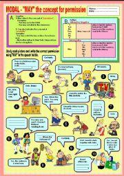 English Worksheets: Modal - using