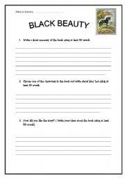 black beauty worksheets free worksheets library download and print worksheets free on. Black Bedroom Furniture Sets. Home Design Ideas