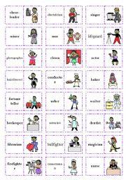 Let´s play dominoes! Set 3 - Jobs (1/3)