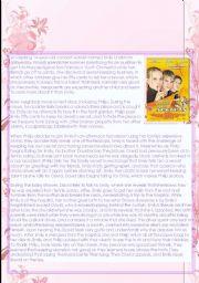 English Worksheets: Little Secrets Movie Summary