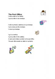 English Worksheets: How to mail a letter