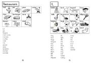 A5 Picture Dictionary 25