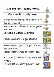 English Worksheets: Fact and Opinion Classifying Activity Cards